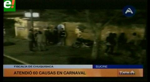Reportan un muerto en el Carnaval de Sucre