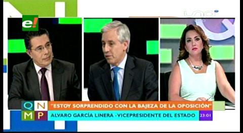 García Linera: En dos contratos pudo haber tráfico de influencias; se hará una auditoría