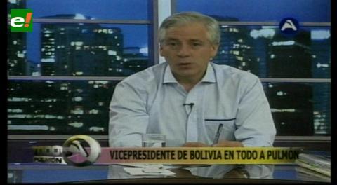García Linera asegura que el próximo 21 de febrero se pone en juego el destino de Bolivia
