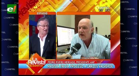 Carlos Valverde podría ser inhabilitado de ejercer funciones según la ANP
