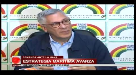 Para Rodríguez Veltzé el referéndum no afecta al tema marítimo
