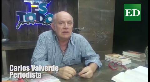 Valverde responde a la acusación de Quintana