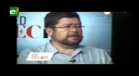 Walter Chávez, exasesor de Evo, habla con Samuel y aporta ideas para el 'No'