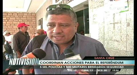 Referéndum: Defensoría del Pueblo trabajará el domingo
