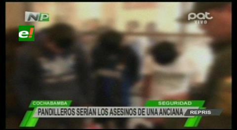 Cochabamba: Dueña de tienda fue violada y asesinada por miembros de una pandilla