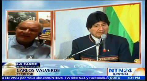 """Carlos Valverde a NTN24: """"La gente quiere tener presidentes, no amos"""""""