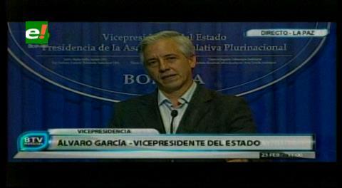 """Protesta ciudadana que exige transparencia es calificada de """"fraude"""" y """"matonaje"""" por el Vice"""