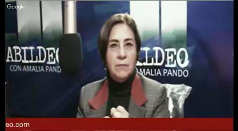 """Amalia Pando: """"Está en marcha un golpe de Estado en El Alto"""""""