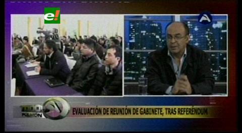 Ministro Ferreira: No se hablará de una candidatura del MAS hasta el 2018