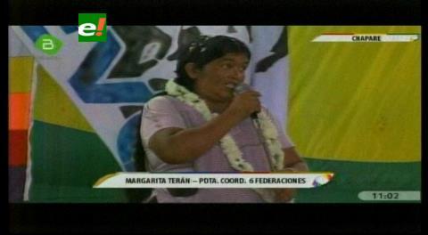 Reaparece Margarita Terán al lado de Evo; sus hermanas fueron pilladas con cargamento de cocaína en 2008
