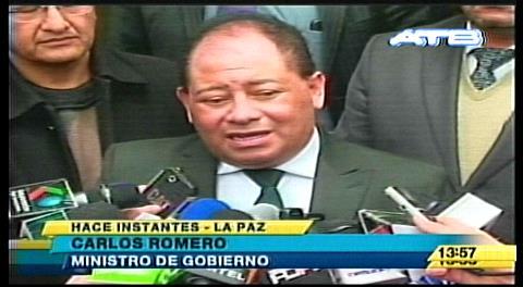 Video: Ministro Romero confirma arresto de Gabriela Zapata para evitar posible fuga