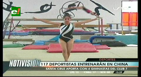117 bolivianos irán a China a entrenar