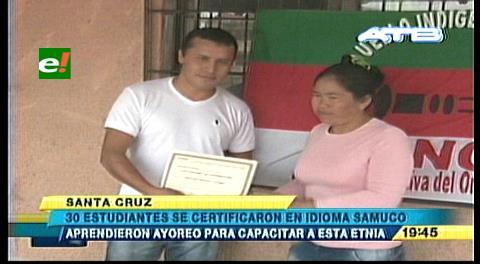 Terminan con éxito cursos para aprender el idioma de pueblo ayoreo