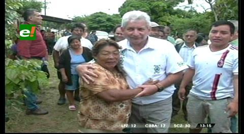 Rubén Costas lideriza minga contra el Dengue, Chikungunya y Zika