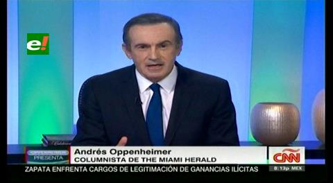Oppenheimer: Ni Zapata ni el gobierno contestan