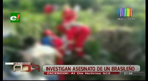 Investigan muerte de un brasilero en San Javier