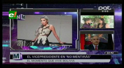 García Linera alerta sospechosos vínculos de líderes opositores con familia de Gabriela Zapata