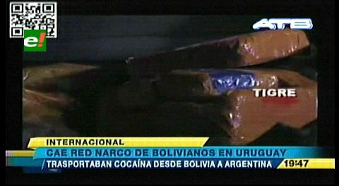 Descubren una red narco de bolivianos en Uruguay