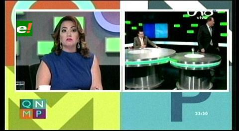 Ministro Romero se enoja y abandona entrevista en Red Uno