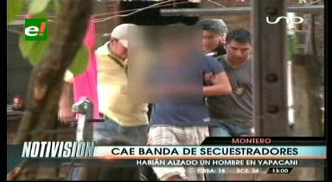 Rescatan a un joven raptado en Yapacaní