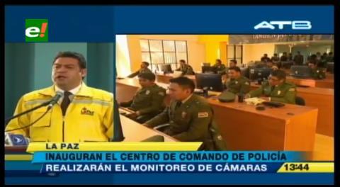 La Paz: Inauguran Centro de Monitoreo construido con una inversión de más de Bs 16,4 millones