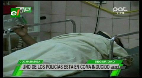Antisociales balean a dos policías en una vía periférica de Cochabamba