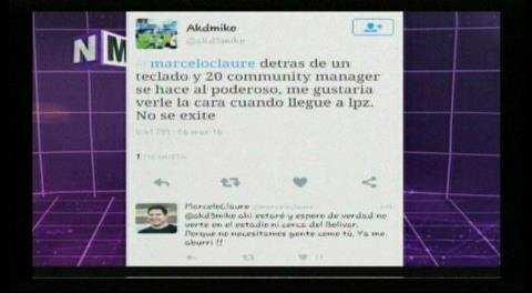 Marcelo Claure e hinchas de Bolívar discuten por Twitter