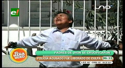 Cochabamba: Fiscales liberan de culpa al cabo acusado de herir a Jhon Copaga