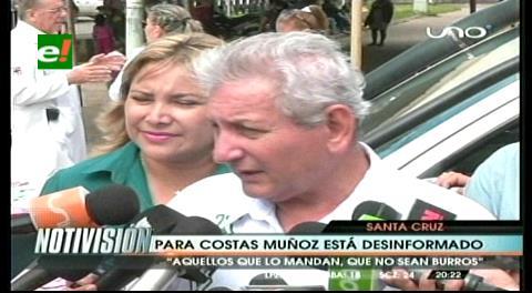 Rubén Costas aseguró que denuncias le ayudan a subir su popularidad