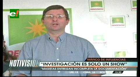 Senador Ortiz: Impiden acceso de oposición a documentos de CAMC