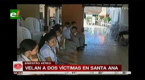 Dos fallecidos en accidente son velados en Santa Ana del Yacuma