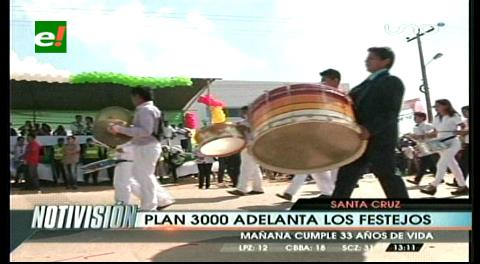 El Plan 3 Mil festeja sus 33 aniversario