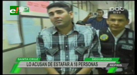 """Estafador preso por ofrecer """"pegas en Vías Bolivia y la ABC"""