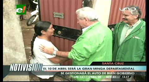 Gobernador Costas anuncia ¨Gran Minga¨ este 10 de abril contra el Aedes Aegyptis
