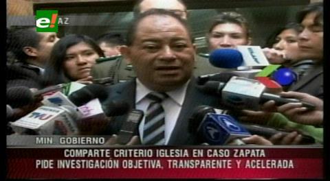 Ministro Romero comparte criterio del Monseñor Gualberti en el caso de tráfico de influencias