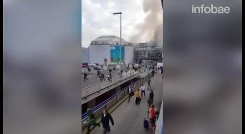 Caos, gritos y huidas desesperadas tras los atentados terroristas en Bruselas