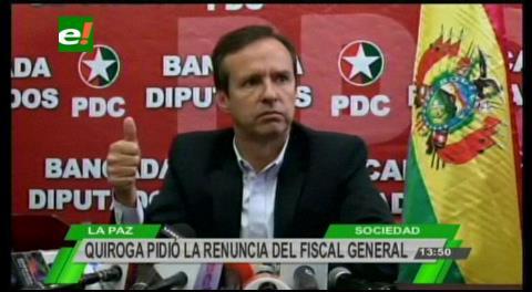 """Tuto pide la renuncia del fiscal Guerrero por su rol """"deleznable"""" en el caso Zapata"""