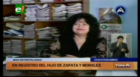 Oficialía de Registro Civil donde se habría inscrito el hijo de Zapata, fue intervenida por el Ministerio de Justicia