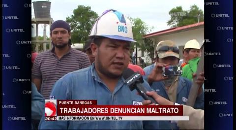 Obreros en Río Grande denuncian maltratos de constructora coreana