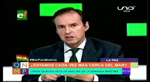 Tuto: «Sudamérica quiere tres cosas; paz en Colombia, democracia en Venezuela y mar para Bolivia»