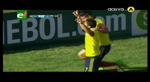 Bacca amplía el marcador: Colombia 2-0 Bolivia