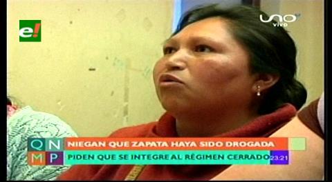 Reclusas de Miraflores denuncian que Zapata ofreció dinero para autoatentar contra su seguridad