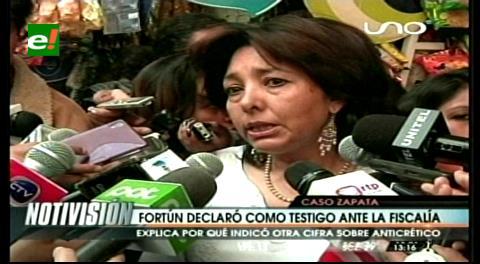 Ximena Fortún declaró dentro del caso Gabriela Zapata