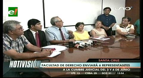 UAGRM: Facultad de Derecho enviará representantes a la Cumbre Judicial