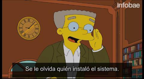 Los Simpsons: Smithers renuncia y abandona al señor Burns (Video)