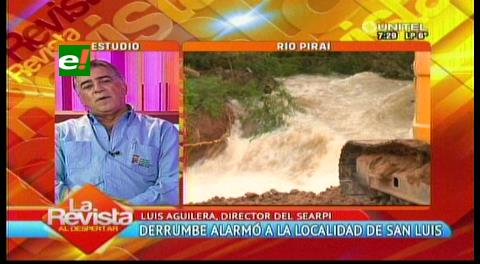 Searpi: Derrumbe en El Torno formó una 'represa' de 2 kilómetros