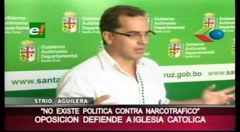 """Aguilera: """"El gobierno debe reconocer que no hay política de Estado contra el narcotráfico"""""""