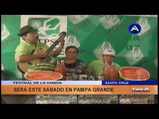 Pampa Grande realiza este sábado la Feria de la Sandía