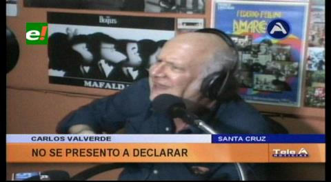 Caso Zapata: Carlos Valverde no se presentó a declarar ante la Fiscalía
