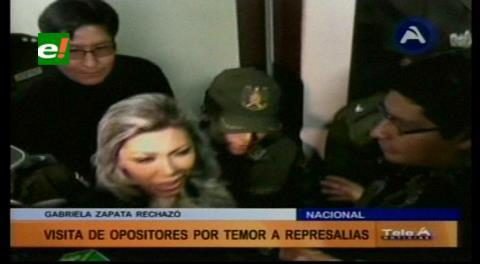 Zapata dice que teme por su vida y se niega a recibir a diputadas de Unidad Demócrata
